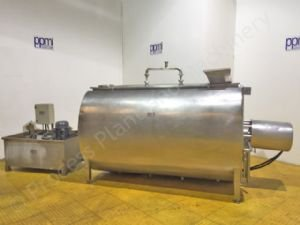 3,000 Ltr Damrow Jacketed Cottage Cheese Creamer Vat