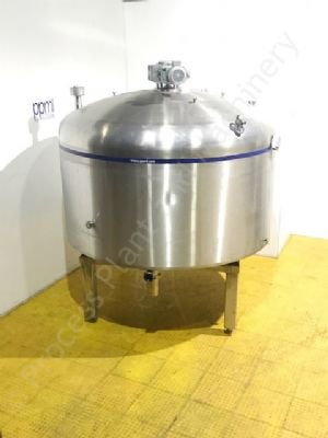 7,500 Ltr Stainless Steel Jacketed Cheese Vat
