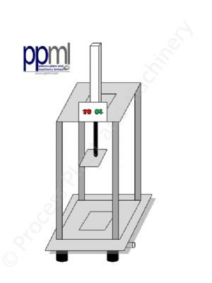 5-Mould Cheese Press - Pneumatic