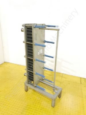 HRS Type FP 22-51-1-NH-0 Stainless Steel Plate Heat Exchanger