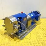4kw 2 inch Ibex Model 2020B Positive Lobe Pump