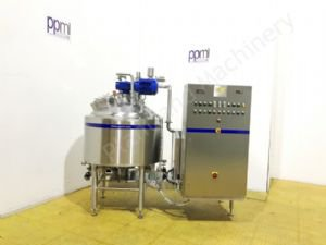 250 Ltr Scanima SRB-250 High Shear Jacketed Vacuum Process Mixer