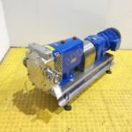 7.5kw 3 inch Alfa Laval SR/5/116/LS/3A Jacketed Positive Lobe Pump