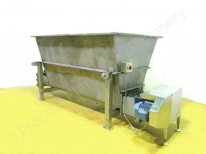 ~2,500 Ltr Stainless Steel Twin-Screw Feeder