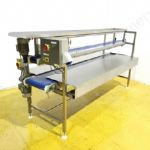 Top & Bottom (2-Tier) Stainless Steel Belt Driven Conveyor