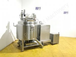 500 Ltr Scanima SRB-500 High Shear Jacketed Vacuum Process Mixer