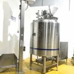 2,000 Ltr Scanima SRB-2000 High Shear Mixing Process Vessel