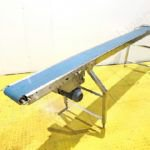 3.2m Long Stainless Steel Belt Driven Conveyor