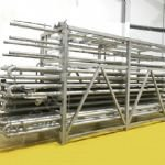 APV Tecalsa Corrugated Tubular Heat Exchanger / Pasteuriser