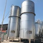 40,000 Ltr 316 Grade Stainless Steel Insulated Tank with Top-Paddle Mixer