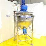 3,700 Ltr Jacketed Tank with Scraped Surface Contra-Rotating & High Shear