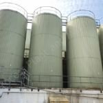100,000 Ltr Stainless Steel Insulated & Clad Liquid Storage Silo