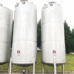 16,000 Ltr 316 Grade Stainless Steel Single Skinned Holding Tank