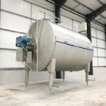 20,000 Ltr Alfa Laval Tebel OST Type Stainless Steel Cheese Vat