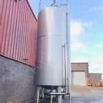 20,000 Ltr Goavec Jacketed Tank with Top-Mounted Multi-Paddle Mixer