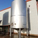 50,000 Ltr Stainless Steel Jacketed Insulated Tank with Side-Entry Mixer