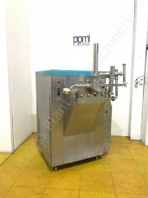 APV Rannie Blue-Top Single-Stage Homogeniser