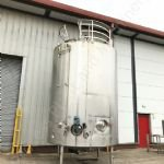 25,000 Ltr 316 Grade Stainless Steel Insulated Tank with Paddle Mixers