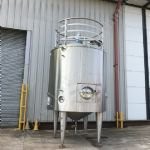 8,000 Ltr 316 Grade Stainless Steel Insulated Tank with Paddle-Mixer