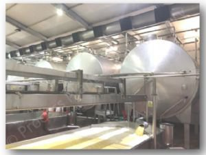 Complete Cheddar Cheese Production Plant