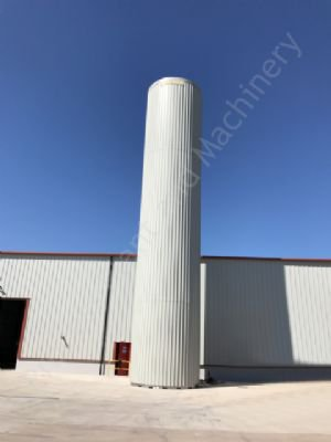 215,000 Ltr Stainless Steel Insulated & Clad Liquid Storage Silo (Brand New Cladding)