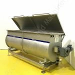 1,500 Ltr Stainless Steel Horizontal Spiral Ribbon Mixer/Blender