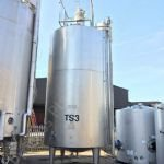 30,000 Ltr Stainless Steel Insulated Tank with Multi-Paddle Mixer