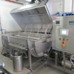 APV Stainless Steel Pilot Cheese Vat with Automated Control System