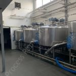 2,500 Ltr Stainless Steel Jacketed Cheese Vat
