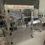 20-Station Sezmak SEZ Rotary Cheese Cube Glass Jar Filling Line
