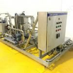 Skid Mounted Milk Pasteuriser Plant