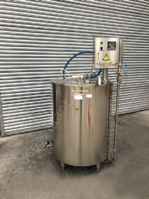 500 Ltr 316 Grade Stainless Steel Jacketed Holding Tank