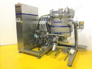 450 Ltr Stephan VM 450 Jacketed Universal Vacuum Process Mixing Vessel