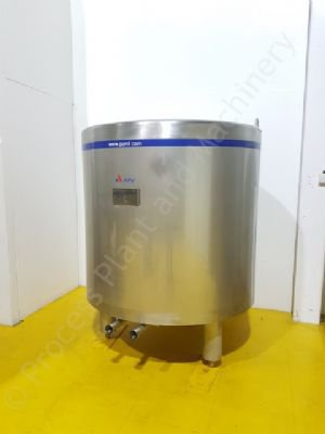 262 Ltr Stainless Steel Holding Cell Vessel
