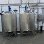 1,250 Ltr 316 Grade Stainless Steel Tank with Top Mounted Paddle Mixer