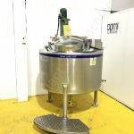 900 Ltr 316 Grade Stainless Steel Tank with Top-Mounted Lightnin Mixer