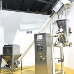 K-TRON Volumetric Feeder with Elevated Screw Conveyor