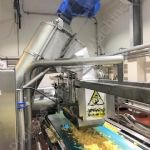 Cheese Curd Transfer System with Integrated Curd Mill