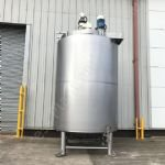 10,000 Ltr 316 Grade Stainless Steel Insulated Tank with Top-Mounted Mixers