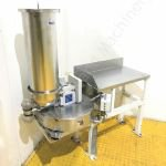 K-TRON KT20 Twin Screw Volumetric Feeder with D5 Platform Scale