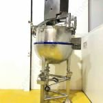 750 Ltr BCH Jacketed Tank with Top-Mounted Full-Sweep Scraped-Surface Mixer