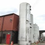70,000 Ltr Stainless Steel Insulated & Clad Vertical Storage Silo