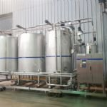 Tetra Pak ALCIP 4-Tank & 1-Channel Skid Mounted CIP System