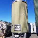 25,000 Ltr 316 Grade Stainless Steel Insulated & Clad Tank with Product Pump