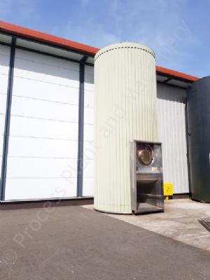 40,000 Ltr 316 Grade Stainless Steel Insulated & Clad Silo (Aseptic Tank)