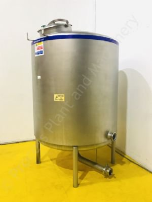 2,000 Ltr Stainless Steel Insulated Vertical Holding Tank