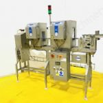 Loma IQ2 Twin Head Metal Detector & Checkweigher with Reject System