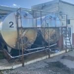 13,600 Ltr (3,000 Gal) Stainless Steel Horizontal Tank