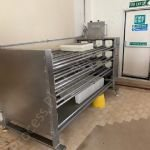 Horizontal Cheese Press & Moulds - 3 Tier