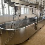 5,000 Ltr Open Stainless Steel Jacketed Cheese Vats